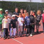 2008 : stage du Tennis Club Poncinois