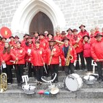 2016 : Fanfare St Germain Laval-Poncins aux classes en 6